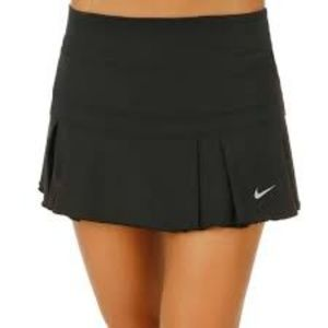 Nike Pleated Tennis Athletic Running Skirt Skort